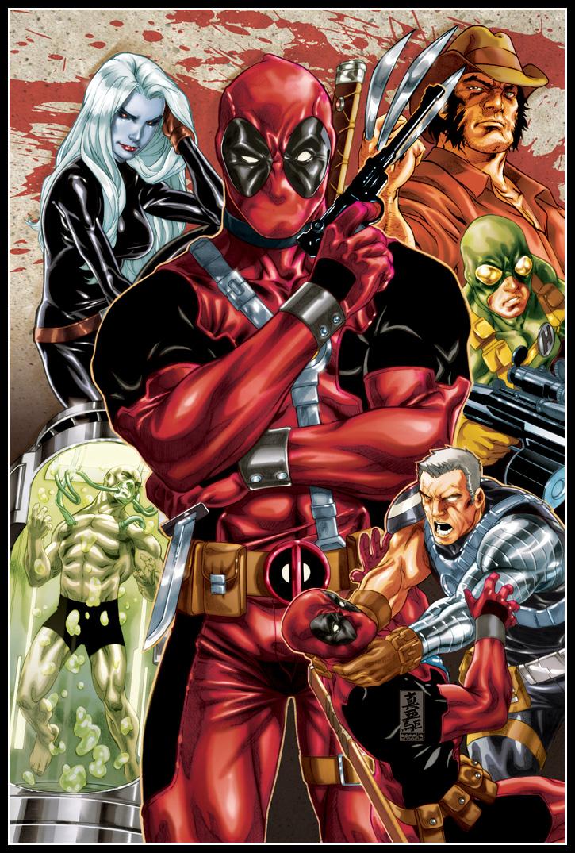 Deadpool origins cover