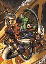 Spider-man number 2 cover by diablo2003