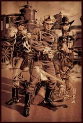 Rawhide Kid 3 cover by diablo2003