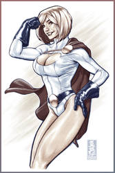 Power Girl by diablo2003