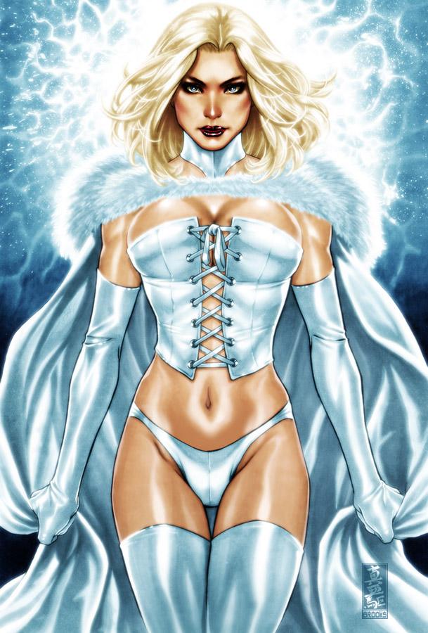 Emma Frost by diablo2003