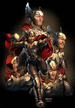 Thor art for Sega