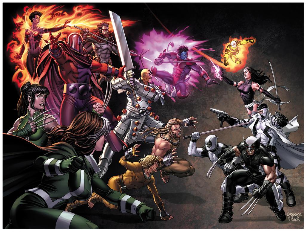 Uncanny X-Force 11 cover by diablo2003