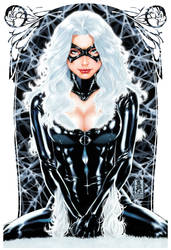 Blackcat painting