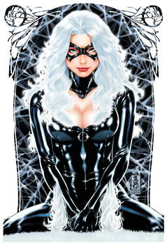 Blackcat painting