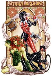 Gotham Sirens by diablo2003
