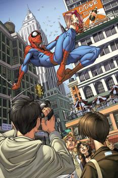 Spider-man issue 4 page 1