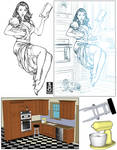 Pin-up step 1 tutorial