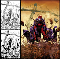 Magneto cover by diablo2003