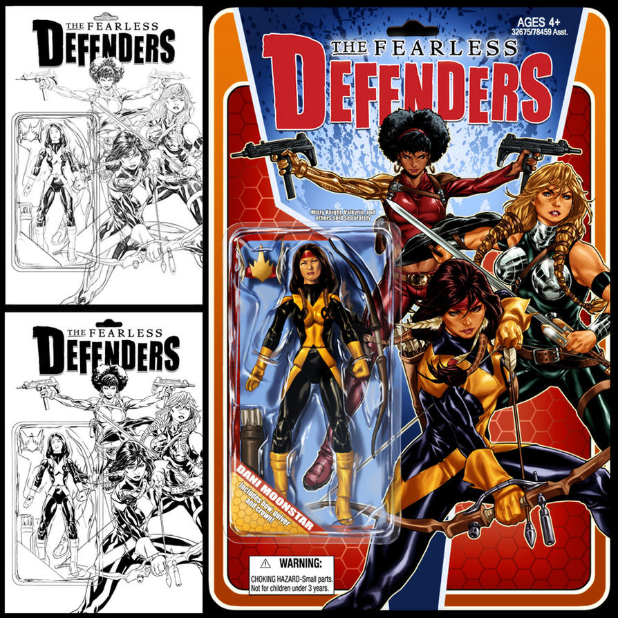 Fearless Defenders #2 cover by diablo2003