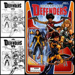 Fearless Defenders #2 cover