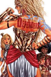 Defenders #3 cover by diablo2003