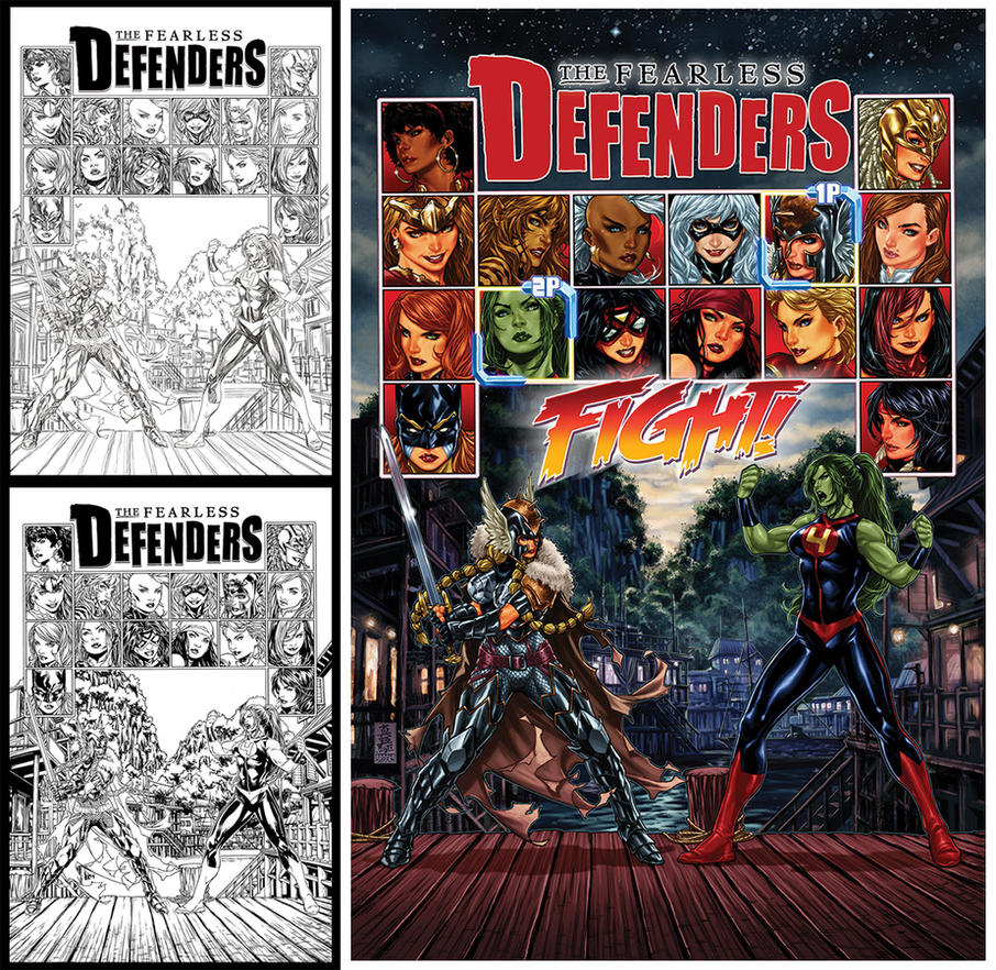 Fearless Defenders #5 by diablo2003