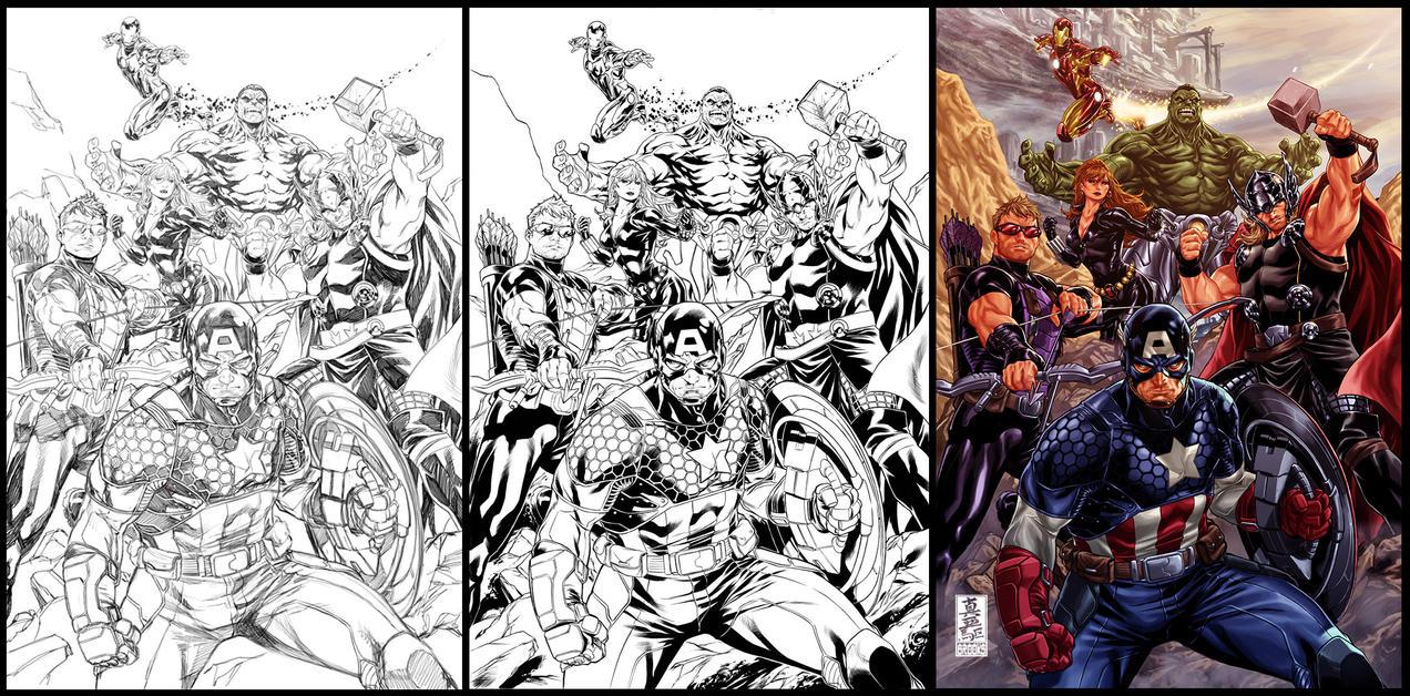 Avengers by diablo2003