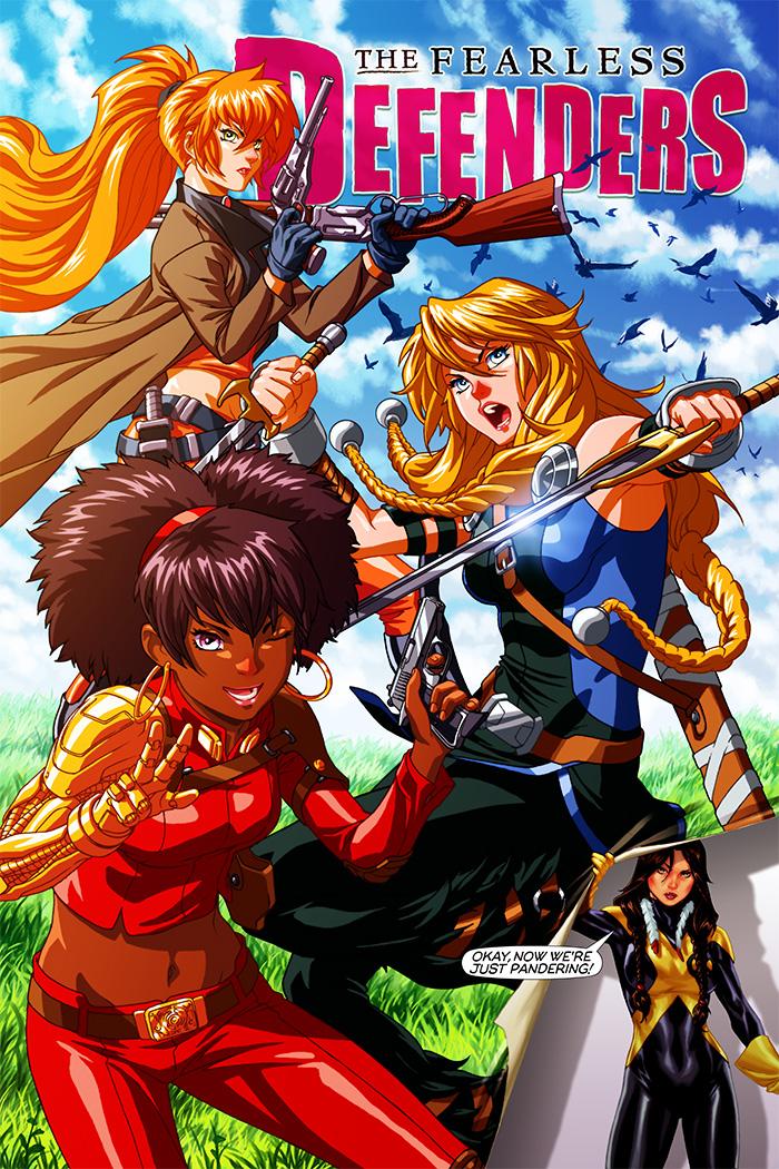 Fearless Defenders 9 by