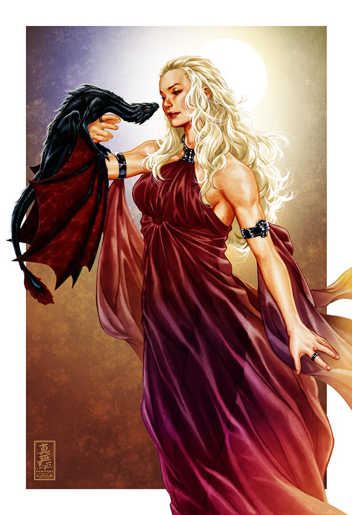 Daenarys Targaryen by diablo2003