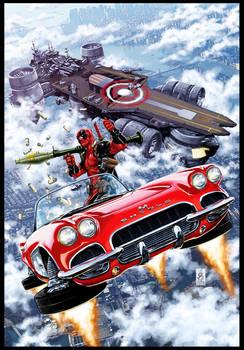 Deadpool #21 cover