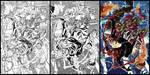 Spider-man vs Green Goblin speed art by diablo2003