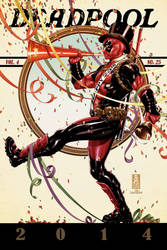Deadpool #25 cover