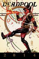 Deadpool #25 cover by diablo2003