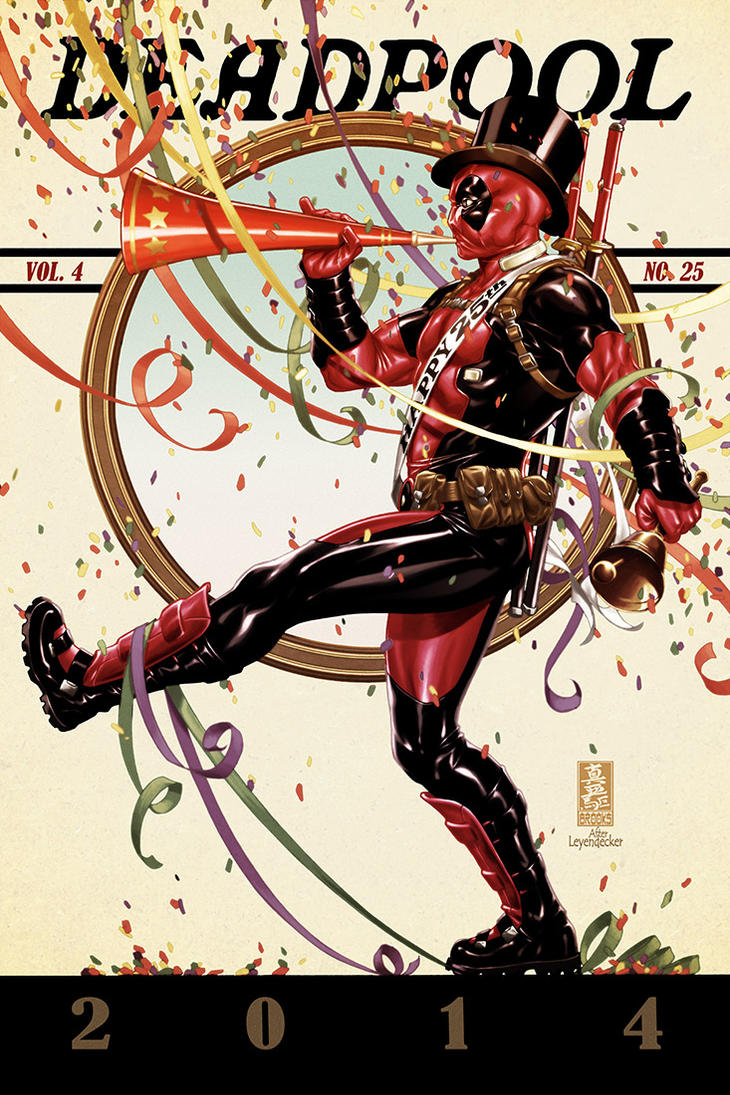 Deadpool #25 cover by diablo2003