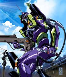 Evangelion by diablo2003