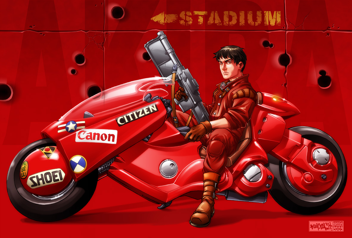 Kaneda's ride