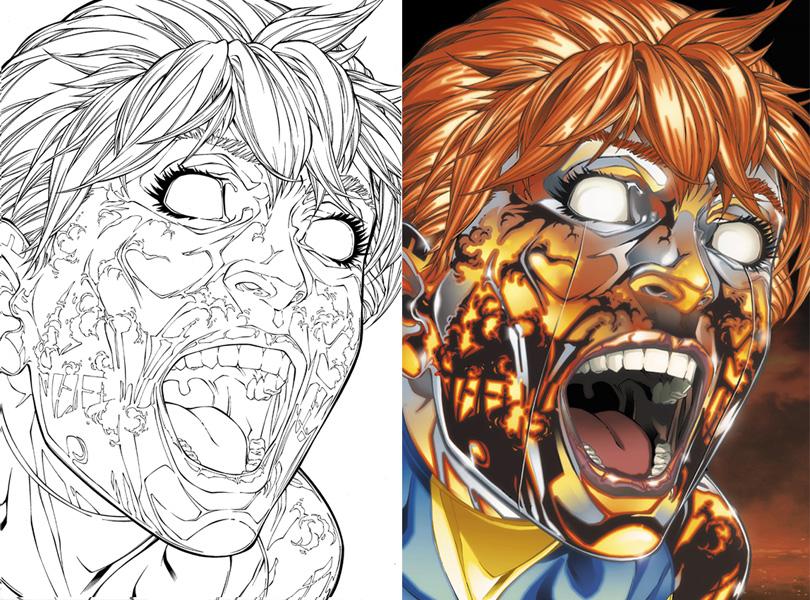New X-Men 24 cover by diablo2003