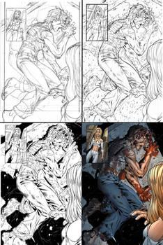 New X-Men page process