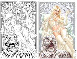 Emma Frost- The White Queen