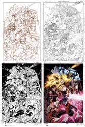 Uncanny X-Men 474 cover by diablo2003