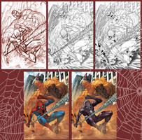Spidey Cover- step by step by diablo2003