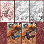 Spidey Cover- step by step