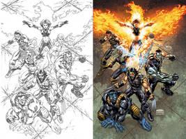Ultimate X-Men trade cover by diablo2003
