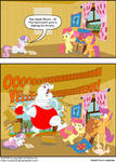 Muscle Pony learns his second word!