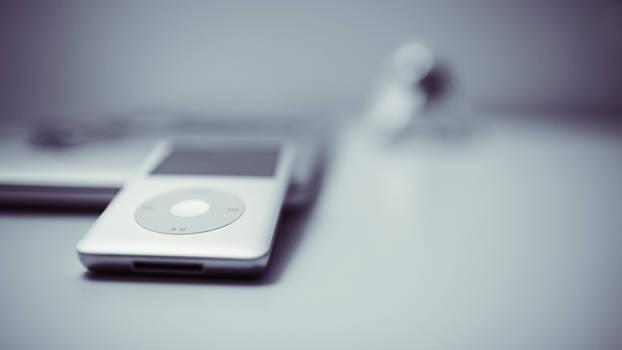 iPod classic graphite