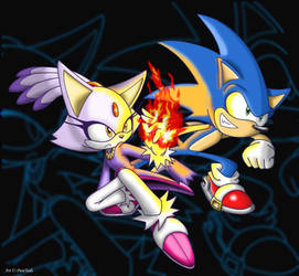 Sonic_and_Blaze by Puretails