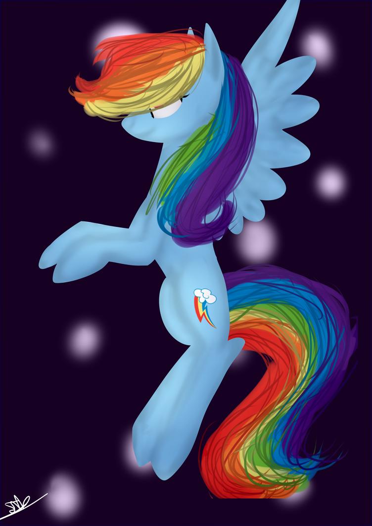 Rainbow Dash by Serri765