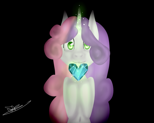 Crystal heart by Serri765