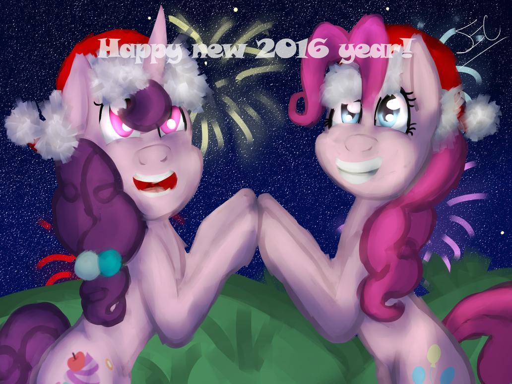 Happy New 2016 Year by Serri765