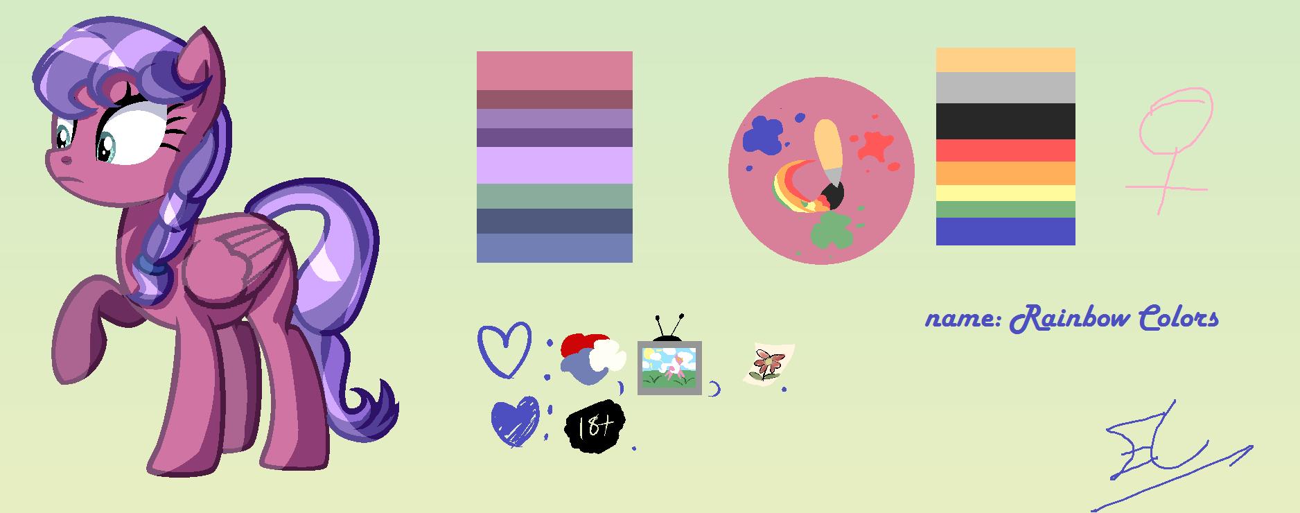 Rainbow Colors by Serri765