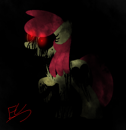 Creepy Applebloom by Serri765
