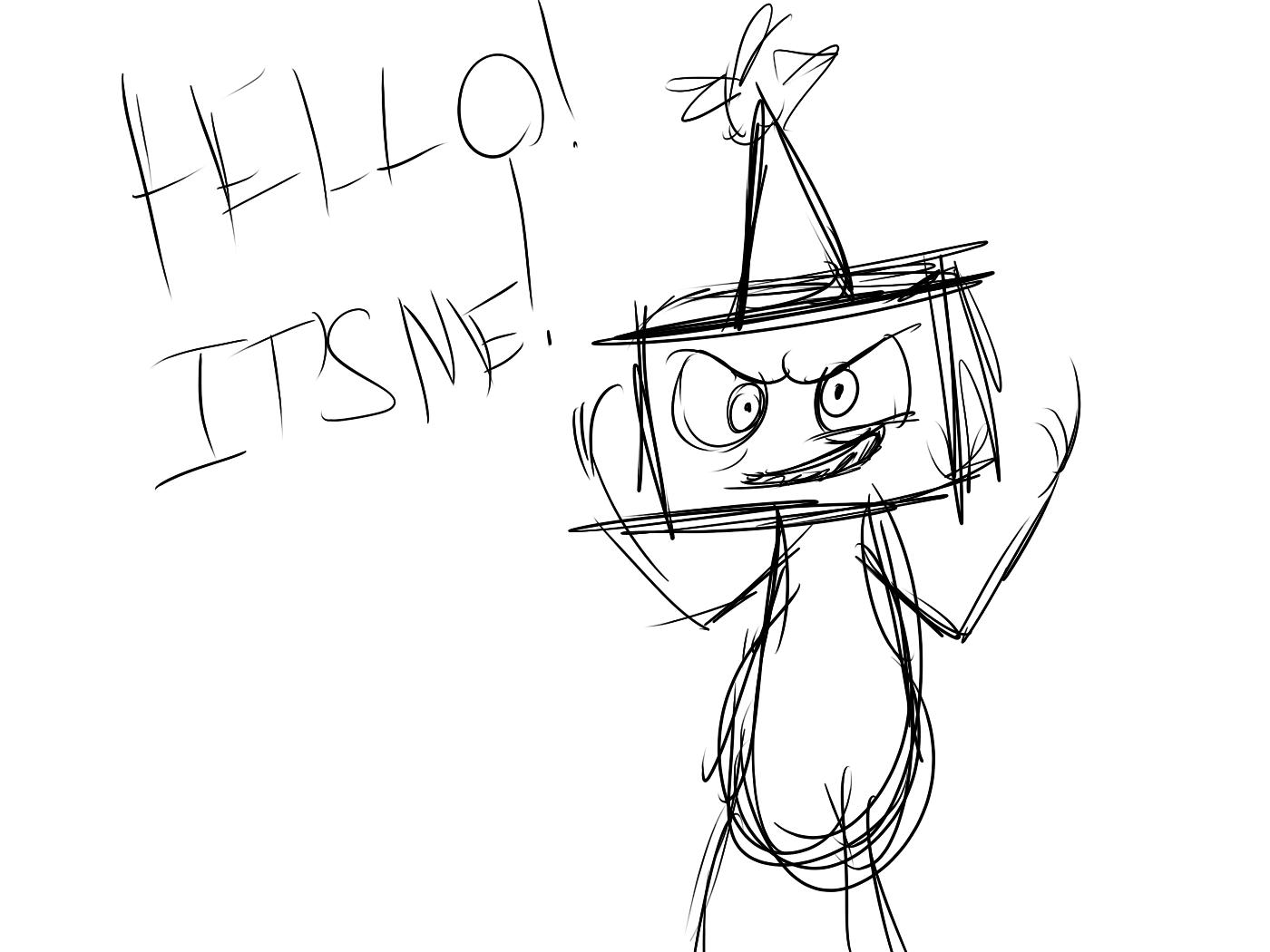 HELLO! IT'S ME! by Serri765