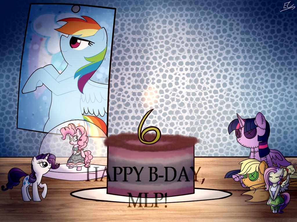 HAPPY B-DAY, MLP! by Serri765