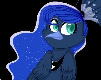 Luna the peacock by Serri765
