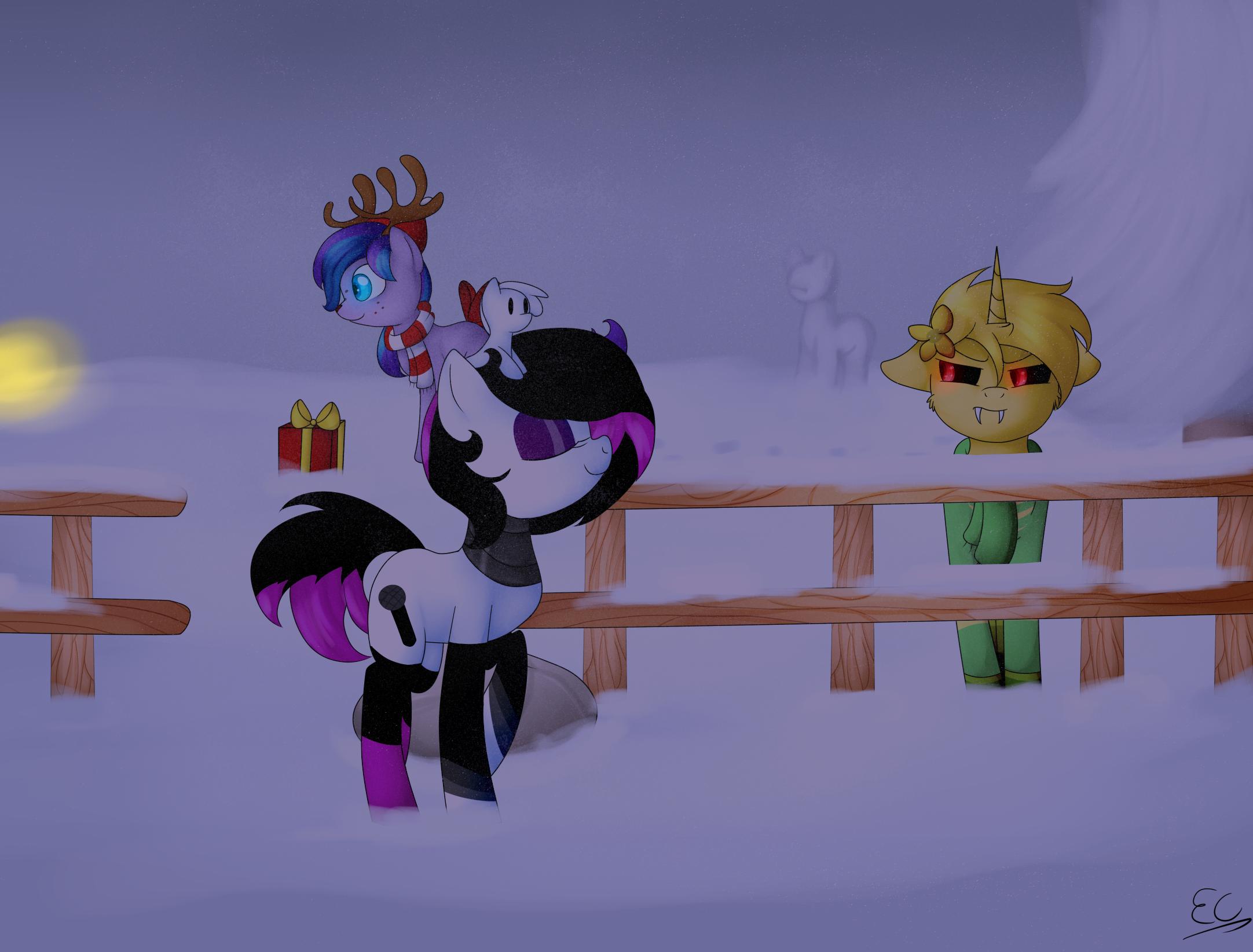 pony town (night) by Serri765