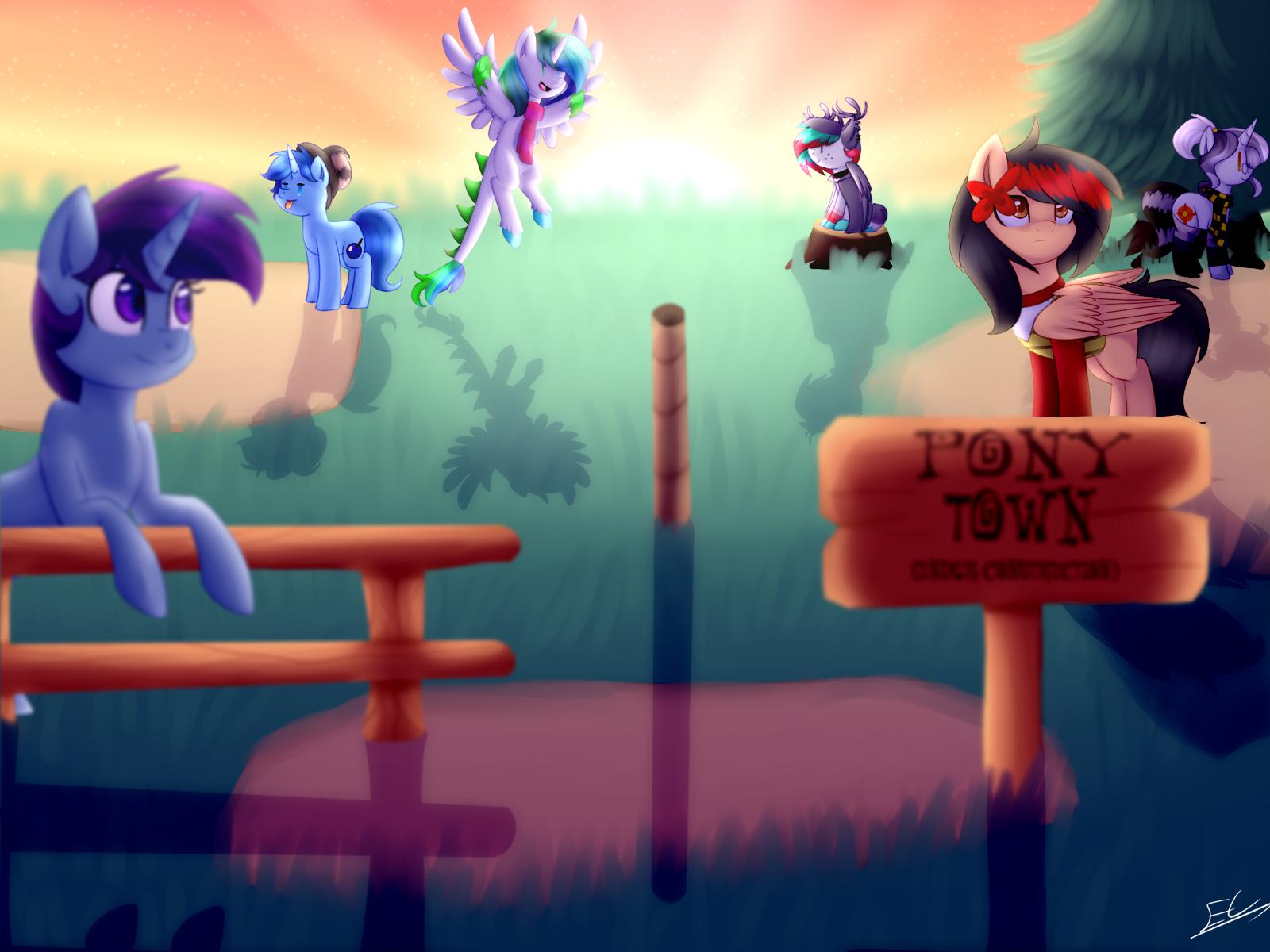 : pony town 3 : by Serri765