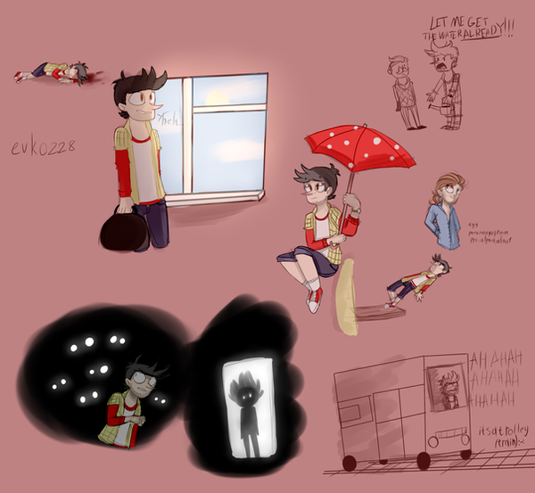 : HN doodles : by Serri765