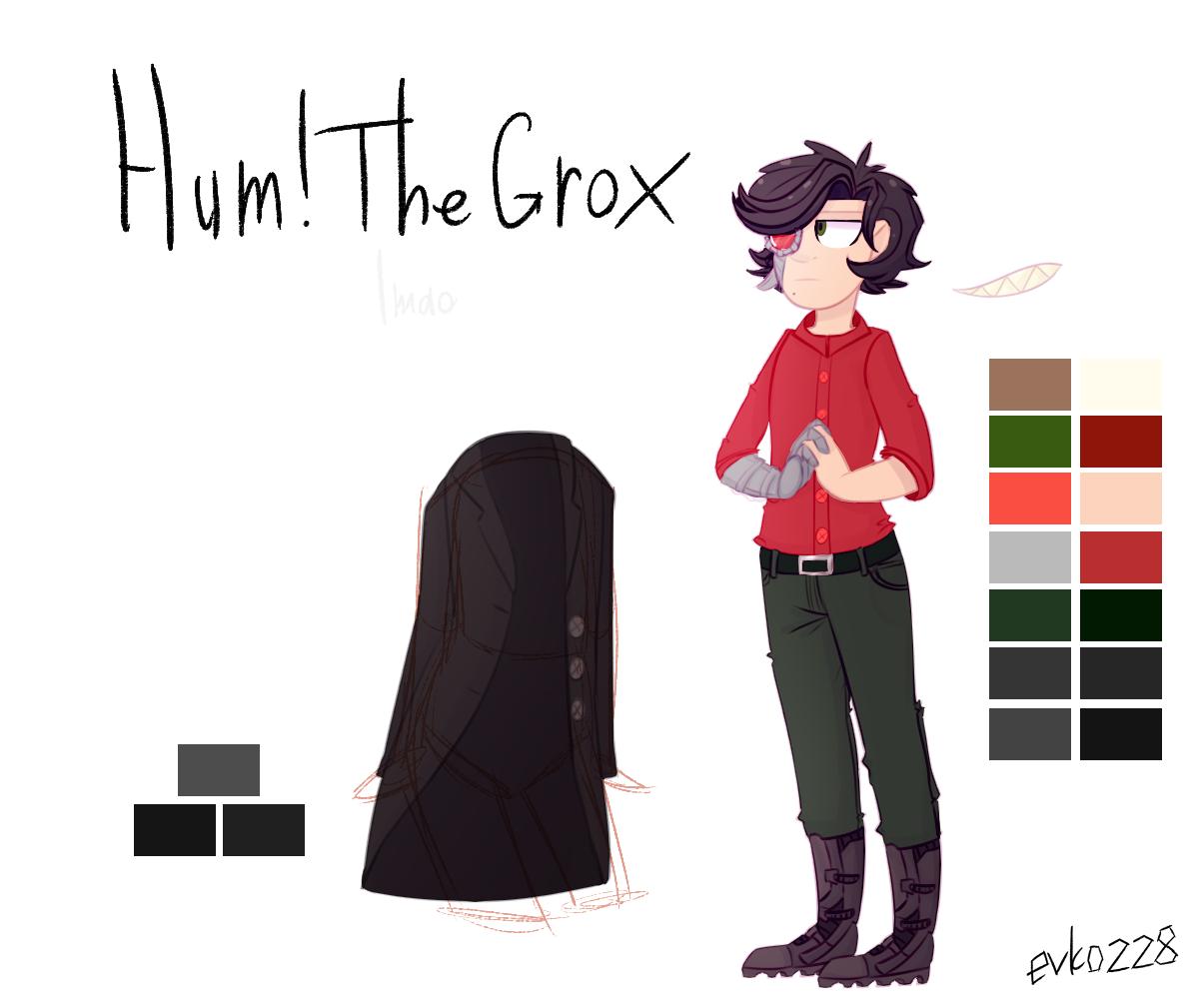 : hum!The Grox : by Serri765