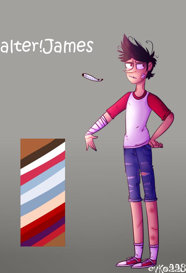 : alter!protag [James] : by Serri765
